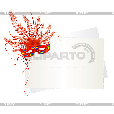 Mardi Gras mask and cards | Stock Vector Graphics |ID 3124991