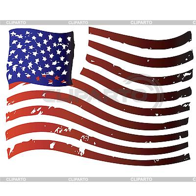 미국 깃발 | 벡터 클립 아트 |ID 3134750