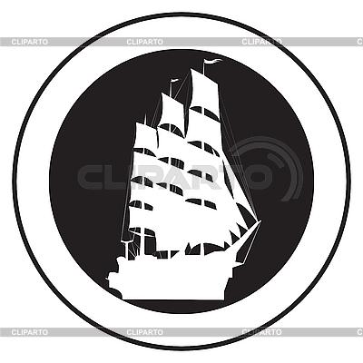 老船徽 | 向量插图 |ID 3152250