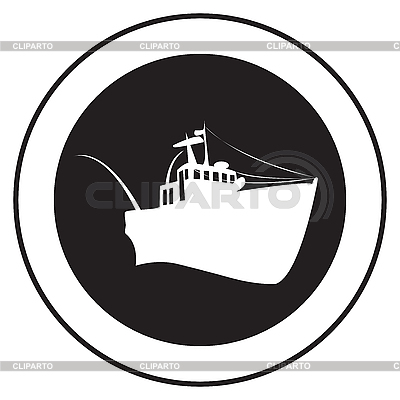 Emblem of an old ship   Stock Vector Graphics  ID 3152252