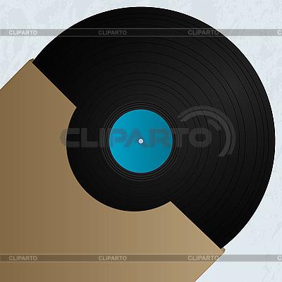 Vinyl and cover | Klipart wektorowy |ID 3155827