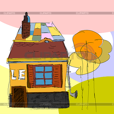 Fantasy house | Stock Vector Graphics |ID 3201229