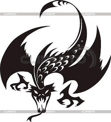 Dragon tattoo | Stock Vector Graphics |ID 3006699