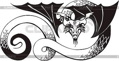 Dragon tattoo | Stock Vector Graphics |ID 3006731