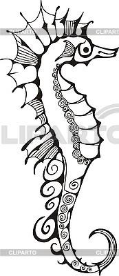 Little sea horse   Stock Vector Graphics  ID 3010355