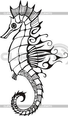 Little sea horse   Stock Vector Graphics  ID 3010379