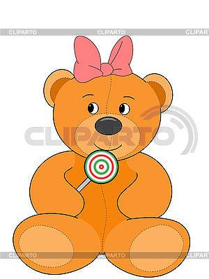 Miss teddy bear | High resolution stock illustration |ID 3010627