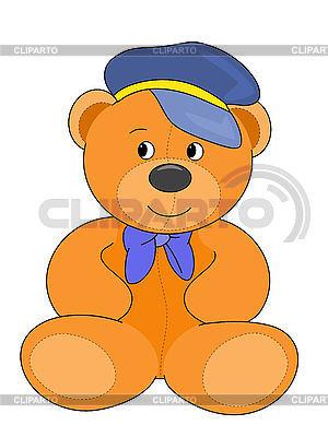 Kapitän Teddybär | Illustration mit hoher Auflösung |ID 3010636