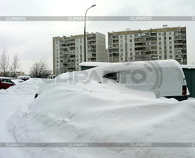 Nach Schneefall | Foto mit hoher Auflösung |ID 3010685