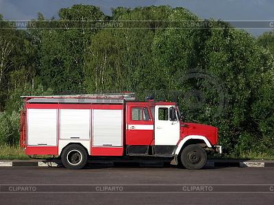 Russian fire truck   High resolution stock photo  ID 3010909