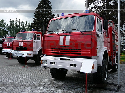 Three fire trucks | High resolution stock photo |ID 3010911