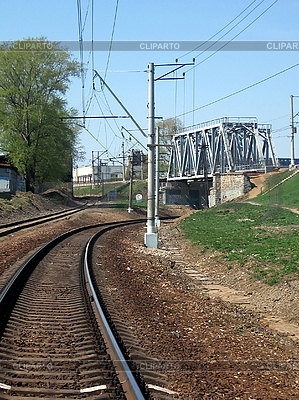 Railway bridge | High resolution stock photo |ID 3011993