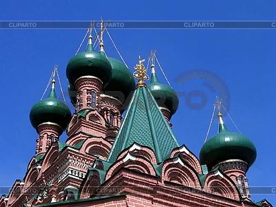Церковные башни с куполами | Фото большого размера |ID 3012091