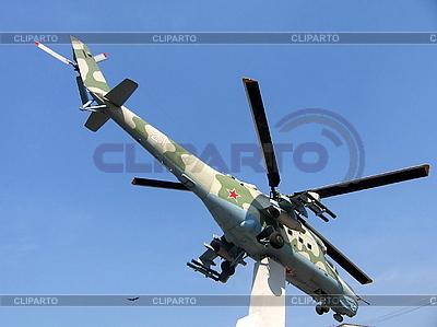 Helicopter monument | Foto stockowe wysokiej rozdzielczości |ID 3012128