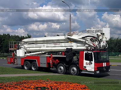现代消防车 | 高分辨率照片 |ID 3012170