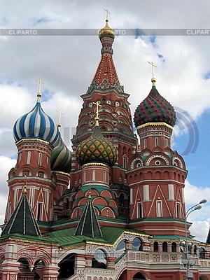 Moscow świątyni na Placu Czerwonym | Foto stockowe wysokiej rozdzielczości |ID 3012178