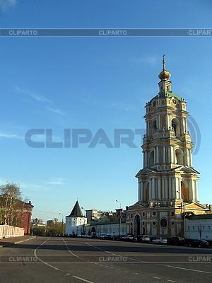 Yellow orthodox belfry | High resolution stock photo |ID 3012198