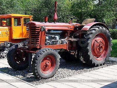 Red Traktor | Foto mit hoher Auflösung |ID 3012226