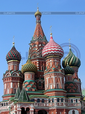 St. Basil Cathedral in Moscow   High resolution stock photo  ID 3012292