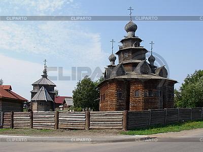 Wood church | High resolution stock photo |ID 3012308