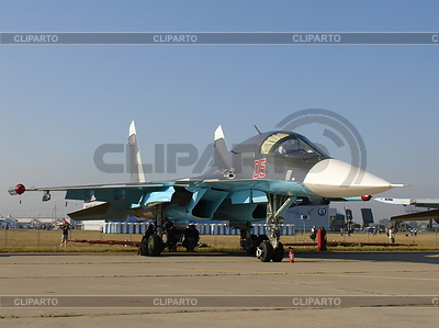 Myśliwca Su-34 | Foto stockowe wysokiej rozdzielczości |ID 3369316