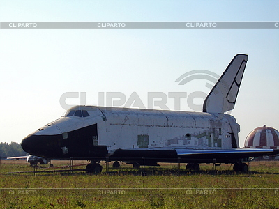 Radziecki statek kosmiczny Buran | Foto stockowe wysokiej rozdzielczości |ID 3369343