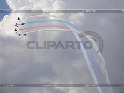 Red Arrows am Hawk T1 Show | Foto mit hoher Auflösung |ID 3369732