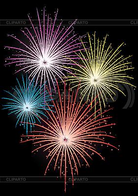 Star firework | Stock Vector Graphics |ID 3010772
