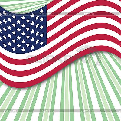 Usa flag | Klipart wektorowy |ID 3010788