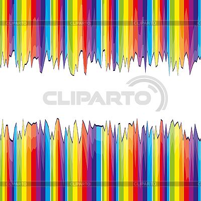 Geschnitte Regenbogen-Streifen | Stock Vektorgrafik |ID 3010823