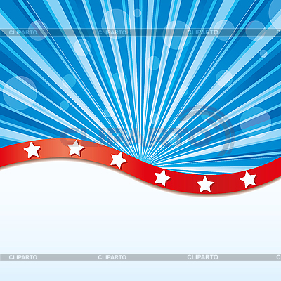 Blue background with stripes and bubbles | Stock Vector Graphics |ID 3010879