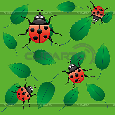 Background with bugs seamless | Stock Vector Graphics |ID 3011297