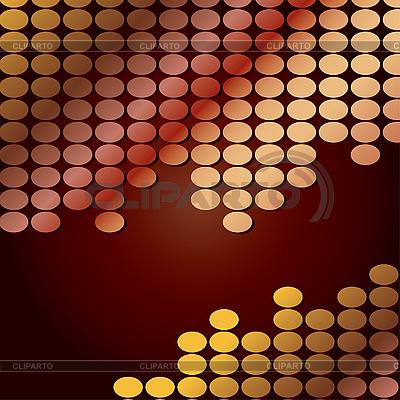 Hintergründe mit brauenen Runden | Stock Vektorgrafik |ID 3011303