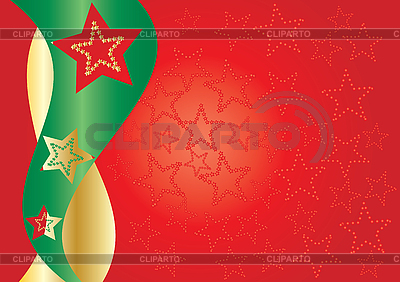 Red background with stars   Stock Vector Graphics  ID 3011402