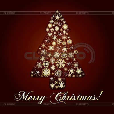 圣诞贺卡 | 向量插图 |ID 3011410