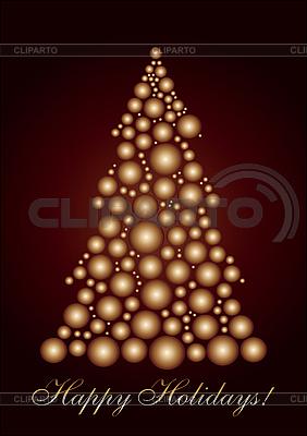 크리스마스 트리 | 벡터 클립 아트 |ID 3011458