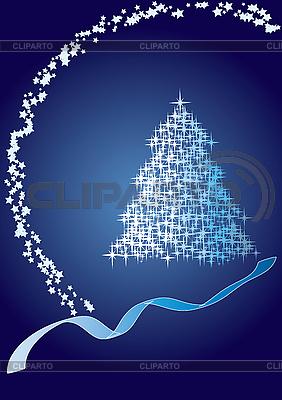 Blue fir tree | Stock Vector Graphics |ID 3011537