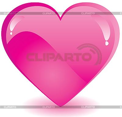 粉红色的心 | 向量插图 |ID 3011687