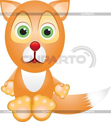 Little fox | Stock Vector Graphics |ID 3012446