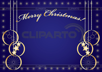 Blue christmas background  | Stock Vector Graphics |ID 3016184