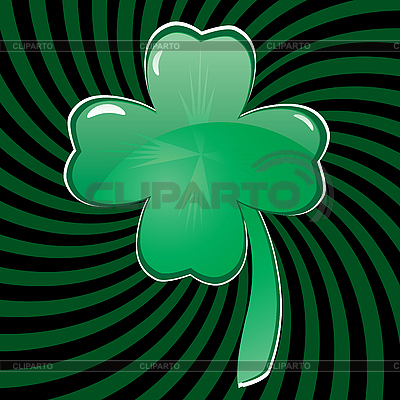 Glass clover  | Stock Vector Graphics |ID 3016204