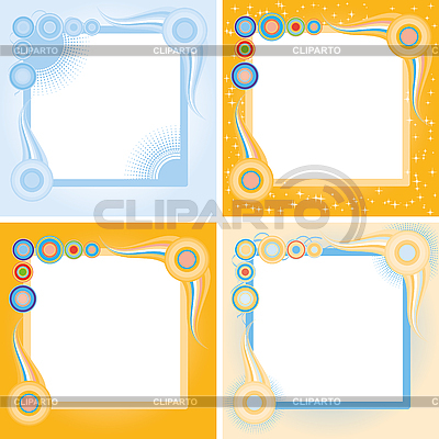 Square frames | Stock Vector Graphics |ID 3016329