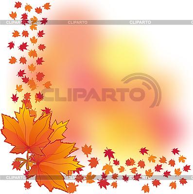 Jesień w tle | Klipart wektorowy |ID 3016349