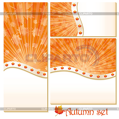 Autumn backgrounds with stars | Stock Vector Graphics |ID 3025755