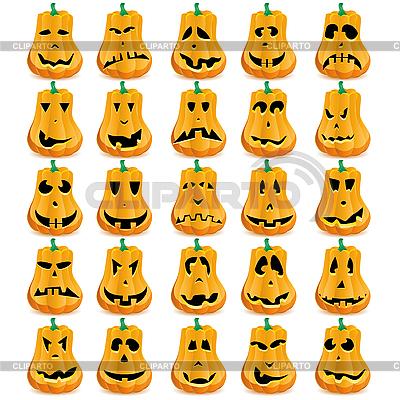 Pumpkins    Stock Vector Graphics  ID 3071693