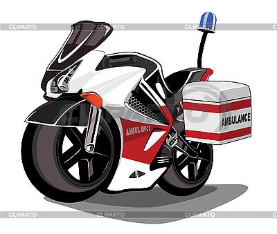 Ambulance motorcycle | Stock Vector Graphics |ID 3011112
