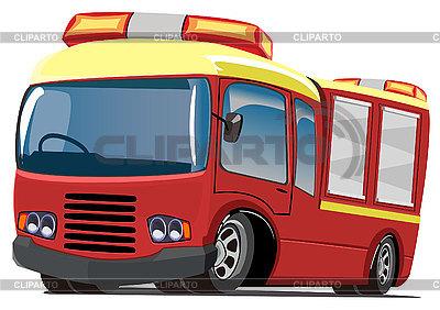 Fire engine | Klipart wektorowy |ID 3012400