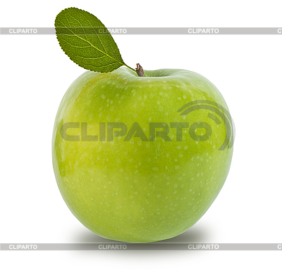 Green apple isolated  | High resolution stock photo |ID 3012749