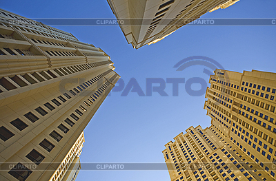 The top of three building | High resolution stock photo |ID 3013321