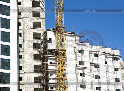 Aufbau neues Gebäudes | Foto mit hoher Auflösung |ID 3013328